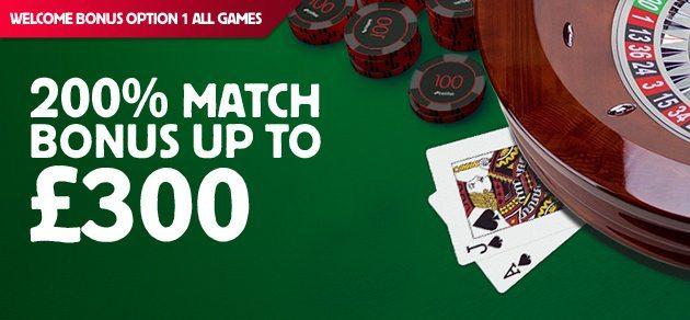 Casino bonus low playthrough casino porker