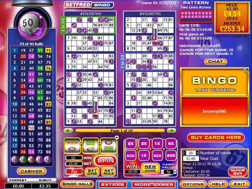 betfred-bingo-screenshot