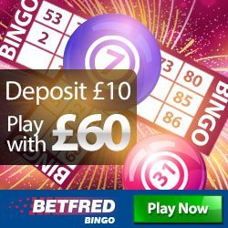Betfred Bingo Bonus Code