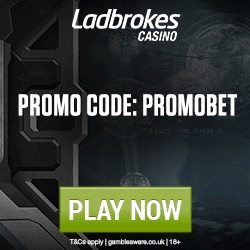 Ladbrokes Casino Promo Code for 25 FREE SPINS