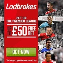 Ladbrokes Free Bets with Promo Code BONUSBETS & F50