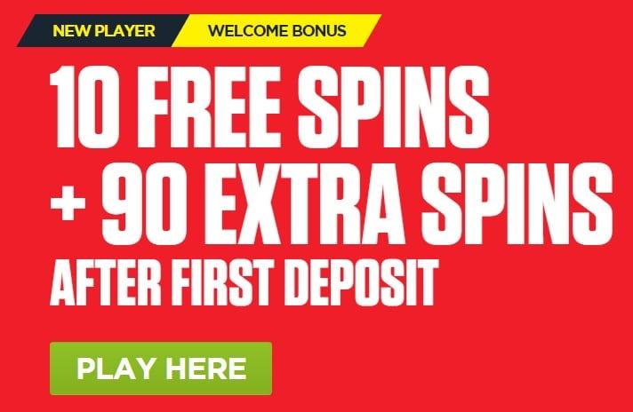 Ladbrokes Casino Promo Code Bonus FS100 for 100 Free Spins