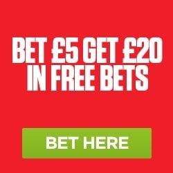 Ladbrokes Free Bet Promo £20 in Free Bets