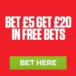 Ladbrokes Free Bet Promo £20 in Free Bets