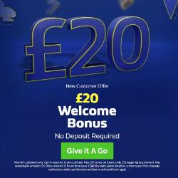 William Hill Casino Promo £20 No Deposit Bonus